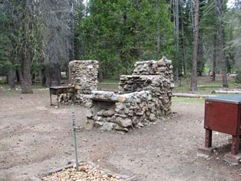 Picture of Rodeo's BBQ cooking area